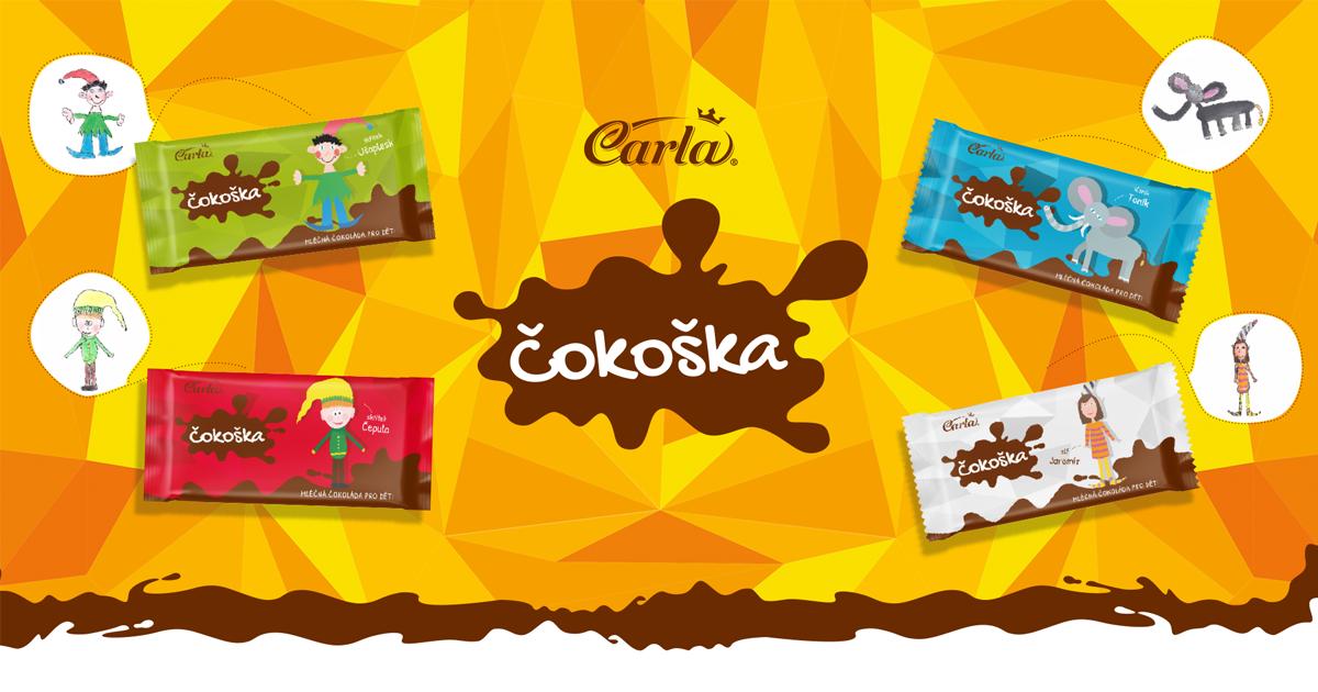 Zapojte se | Čokoška - první čokoláda, kterou namalovaly samy děti